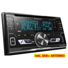 KENWOOD 2-DIN DAB+/USB Autoradio/Radio-Set für SKODA Octavia 2 1Z & Yeti(Stream)