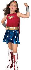 Licensed DC Comic Superhero Wonder Woman Child Costume Fancy Halloween Dress Up