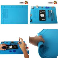 Silicone Heat Insulation Desk Mat Repair Kit For Mobile PC Tablet Phone Fix Pad