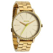 Nixon Kensington All Gold/Neon Yellow Women's Watch A099-1900 A0991900 SD