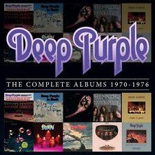 """NEW Deep Purple """"The Complete Albums 1970-1976"""" 10 CD Box Set Collection"""