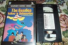 [2628] - The Beatles - Yellow submarine (1968) VHS rara
