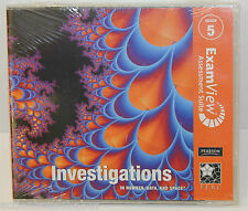Investigations Examview Assessment Suite Grade 5 Cd-Rom - Brand New