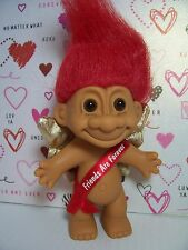 """Valentine Friends Are Forever - 5"""" Russ Troll Doll - New In Original Wrapper"""
