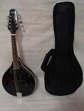 A-Style Acoustic Electric Mandolin, Free Gig Bag, Black, Brand New