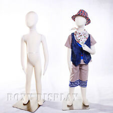 Full body jersey covered flexible children mannequin Dress Form Display #Ch05T