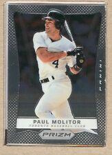 Paul Molitor 143 2012 Panini Prizm