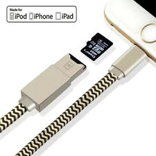 USB Charging Cable micro SD Card Reader OTG FAST Adapter for Apple iPhone 7 iPad