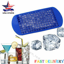 160 Grids Small Ice Cube Trays Frozen Mold Silicone Trays Cold Drink Helper_CA