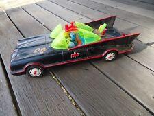 Rare 1960's Batt.Op. Tinplate ASC Batmobile - Trademarked/Collectable Car