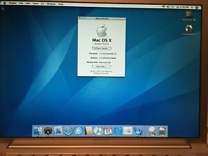 Apple Macintosh Mac PowerBook G4 WORKS 1.5 GHz/80 GB HDD/512 MB RAM bundle