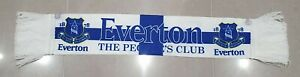 Everton FC Official White The Peoples Club Car/ Window Scarf - Great Gift Idea!