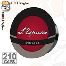 210 Cialde Capsule Caffè Gimoka Compatibili Lavazza a Modo Mio Miscela Intenso