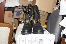 Whites Smoke Jumper Firefighter boots 400V BLACK 14E