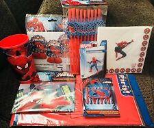 Spider-Man birthday party supplies!! 🎈🎈Free Shipping
