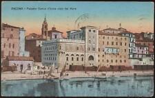 cartolina ANCONA palazzo banca d'italia visto dal mare