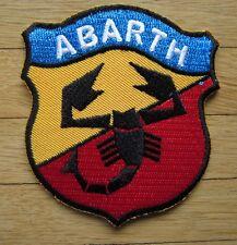 Aufnäher / Aufbügler/ Patch: ABARTH - Logo - Kult !