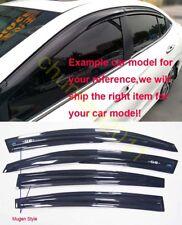 Window Visor Wind Rain Sun Guard Vent For 2009-2014 Chevrolet Cruze Sedan