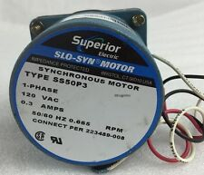 Superior Electric SS50-P3 Servo Motor. Slo-Syn | 120VAC | .3AMPS