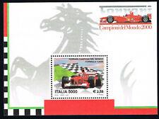 ITALIA 1 FOGLIETTO FERRARI CAMPIONE DEL MONDO - 2001 nuovo**