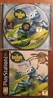 Sony Playstation Disney's A Bug's Life ~ Complete ~ Black Label (PS1, 1998) CIB