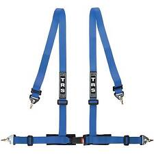 """TRS 2"""" Blue 4 Point Clubman Saloon Seat Safety Harness - MH340-1002"""