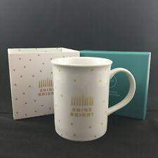 Shine Bright Mug in Gift Box - Menorah, Hanukkah, Chanukah