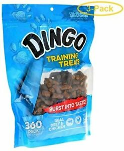 Dingo Training Treats 360 Pack - Pack of 3