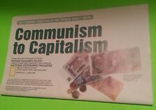 National Geographic March 1993 Communism to Capitalism Russia Soviet Union Map