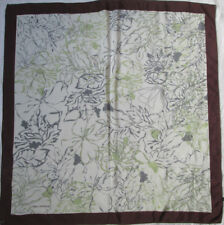 -Superbe Foulard TED LAPIDUS   100% soie  TBEG vintage scarf  90 x 90 cm