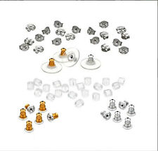 Earring Back Assortment Replacement Backs Earnuts Jewelry Findingsr Friend Gift
