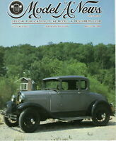 "1929 Model ""A"" Sport Coupe -Model ""A"" News Official Publication Vol.36 NO.4 1989"