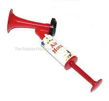 PARTY PUMP ACTION AIR HORN FOG HORN HAND HELD FOOTBALL FESTIVAL KLAXON GASLESS