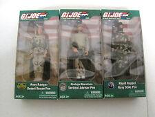 G.I. Joe Set Of 3  Army Ranger, Strategic Operations, Rapid Rappel (HKYC77-649)