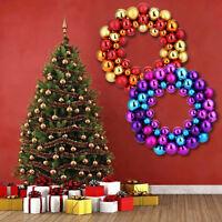 Christmas Large Balls Wreath Wall Door Hanging Ornament Garland Xmas Party Decor