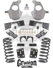 """Chevy Silverado 5/7 Lowering Kit 2001-2007 Single Cab 17""""+ Rims McGaughys 93029"""
