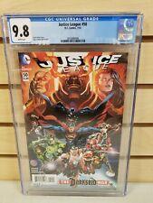 Justice League #50 2016 DC Comics 1st Jessica Cruz as Green Lantern CGC 9.8