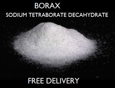 Borax - Sodium Tetraborate Decahydrate - 99.9% Technical Grade - 1kg ONLY £5.79