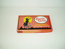 "Vintage ""Beetle Drive"" game by H.P. Gibsons & Sons 1970s."
