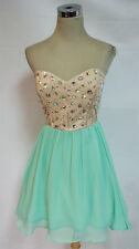 MASQUERADE Cacade / Champagne Party Dress 7 - $100 NWT