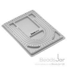"""Beadsmith Flocado grano BOARD BANDEJA PARA ABALORIOS 9.5""""x13"""" (G11)"""
