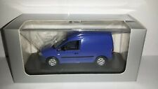 Minichamps 1:43 Volkswagen Caddy blauw nieuw in VW dealer display doosje