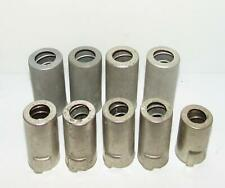*Lot of Nine* Elco 7 and 9 pin tube shields. Good condition.