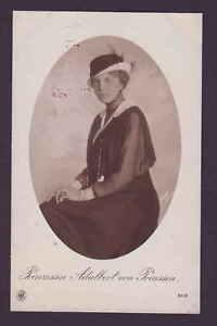 Prinzessin Adalbert von Preussen alte Ansichtskarte NPG