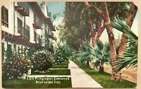Riverside Ca Postcard East Wing Hotel Glenwood Vintage California Motel Travel