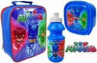 PJ Masks Lunch Bag Bottle Sandwich Box School 3pc Set GIFT PICNIC SCHOOL