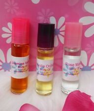 Sandalwood Vanilla Perfume Body Oil Fragrance 1/3 oz Roll On One Bottle Unisex