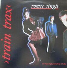 """ROMIE SINGH - TRAIN TRAX  - 12"""" MAXI SINGLE 45 RPM"""