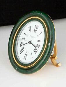 Vintage Cartier Baignoire Desk Alarm Clock