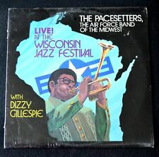 THE PACESETTERS,AIR FORCE BAND OF THE MIDWEST W/ DIZZY GILLESPIE-SEALED LP